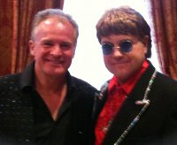 Bobby Davro with Paul