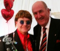 Paul with Russ Abbot